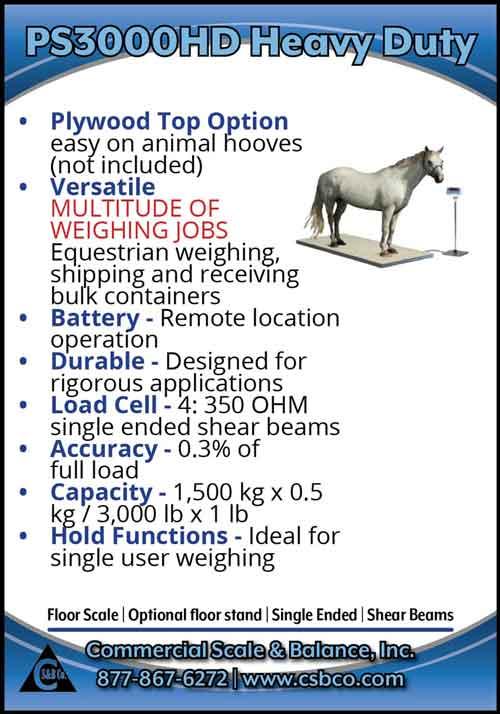 American Farming Publications Commercial Scale & Balance www.csbco.com