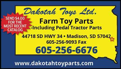American Farming Publications Dakotah Toys LTD www.Dakotahtoyparts.com