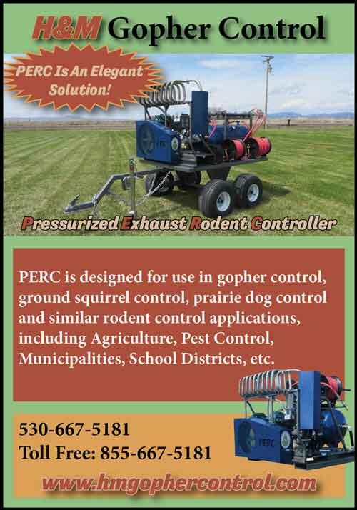 American Farming Publications H&M Gopher Control www.hmgophercontrol.com