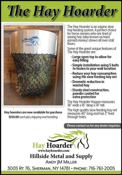 American Farming Publications Hay Hoarder advert www.hayhoarder.com