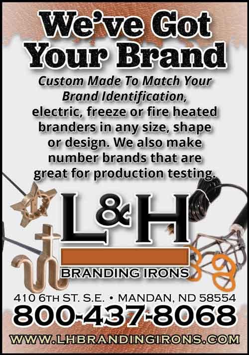 American Farming Publications L&H Branding Irons www.lhbrandingirons.com