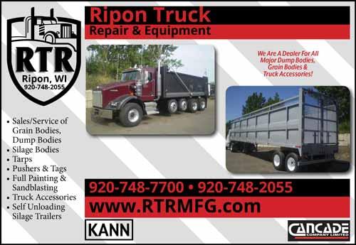 American Farming Publication Ripon truck www.rtrmfg.com