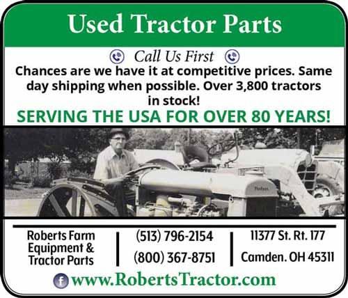 American Farming Publication Roberts Tractor www.robertstractor.com