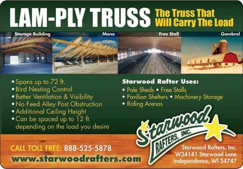 American Farming Publication Starwood Rafters www.starwoodrafters.com