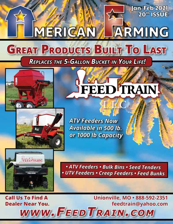 American Farming Publication Jan Feb 20th Issue Cover 2021