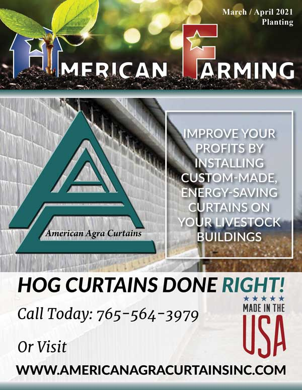 American Farming Publication March April Spring Cover