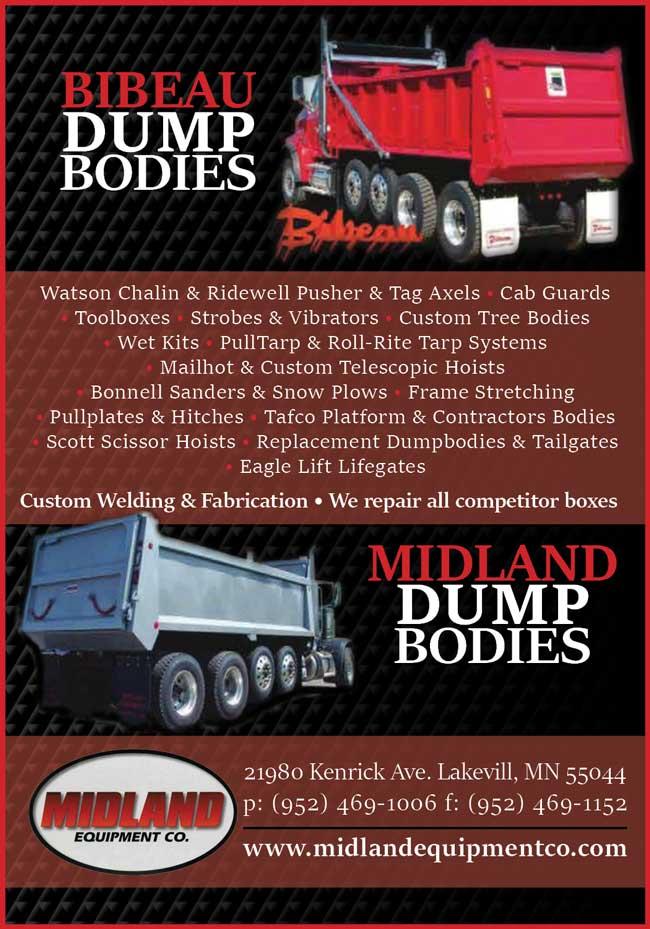 Midland equipment American farming publication
